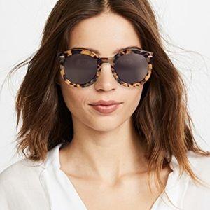 Karen Walker Super Duper Sunglasses Tortoise